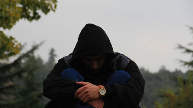 Person Contemplating Suicide