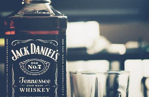 Jack Daniel's Tennessee Sour Mash Whiskey Bottle